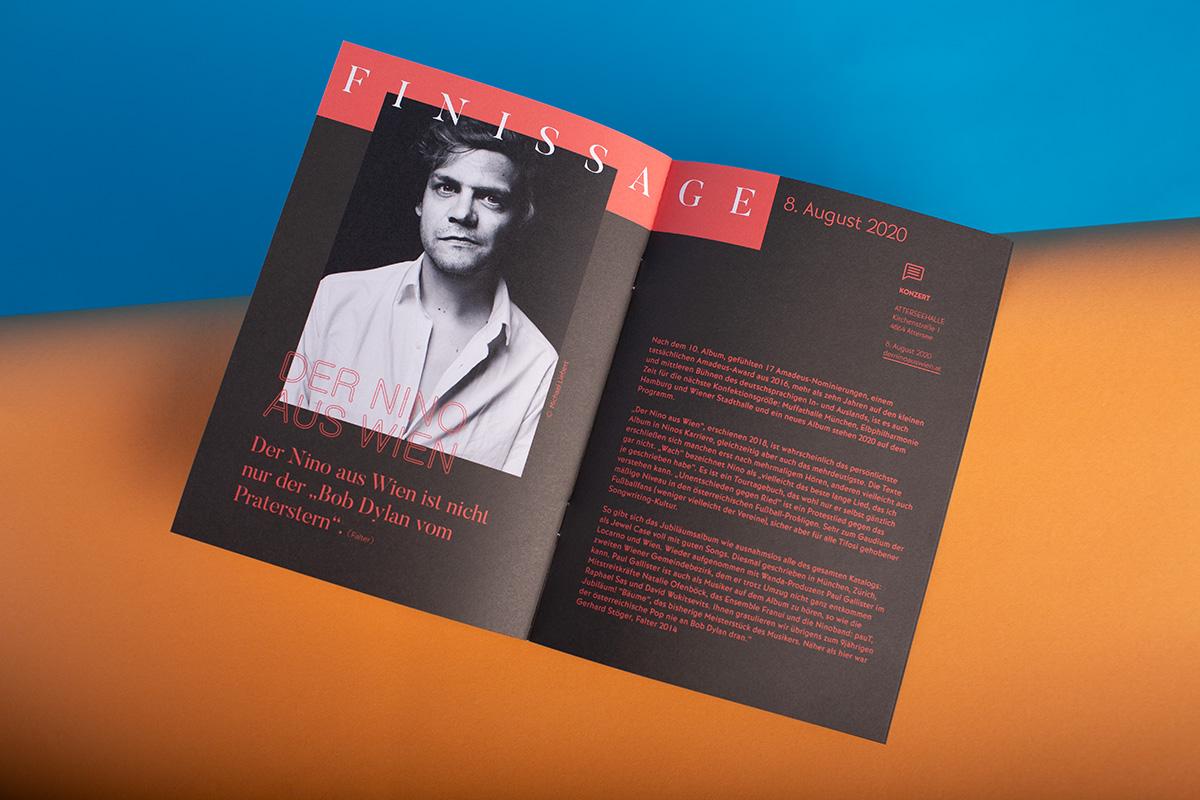 Der Nino aus Wien - Perspektiven Atterssee - Grafik & Design - Editoral