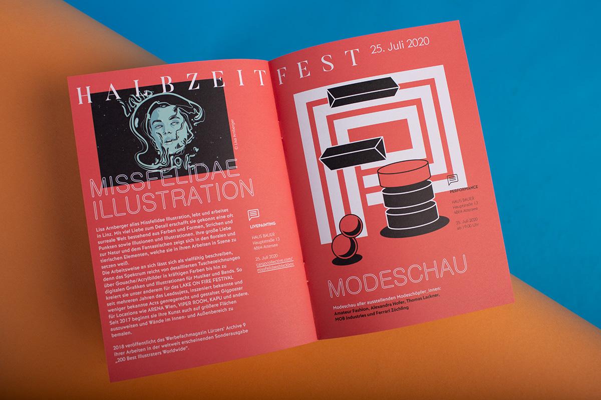 Missfelidae - Perspektiven Atterssee - Illustration - Modeschau