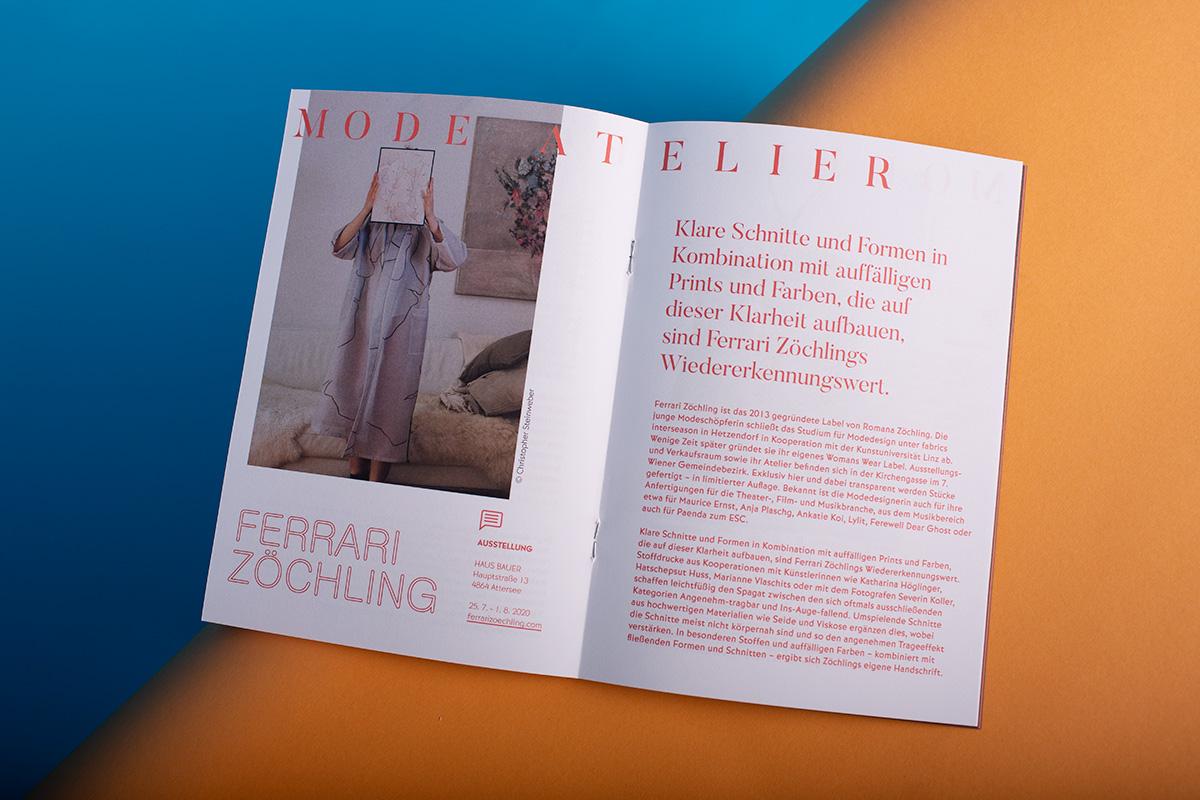 Ferrari Zöchling - Romana - Perspektiven Atterssee - Mode - Editoral